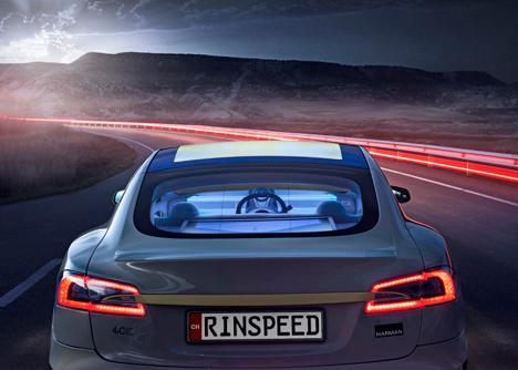 rinspeed autonomous car