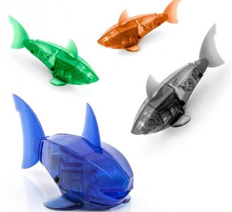 robotic swimming fish