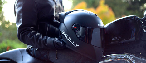 skully AR motorcycle helmet