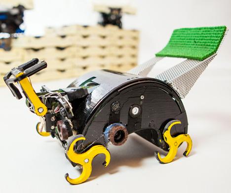 structure building termite robots