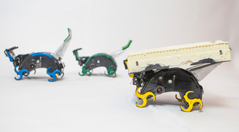 termite building robots