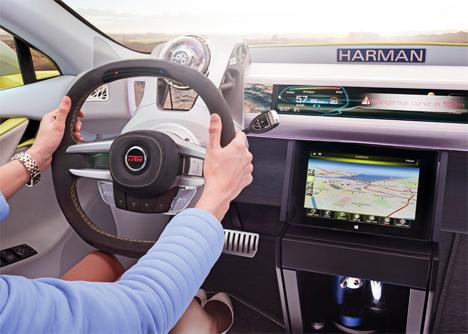 tesla rinspeed concept autonomous car