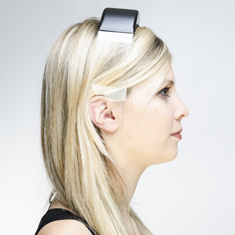 clear acrylic headband headphones