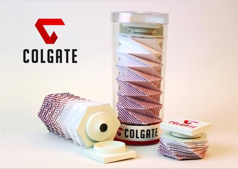 colgate brand redesign