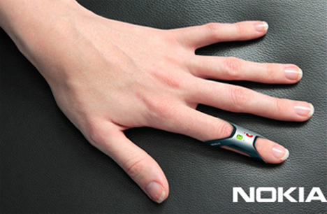 finger ring nokia phone concept