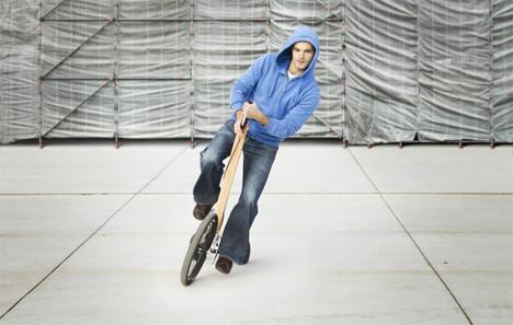 lean to steer halfbike