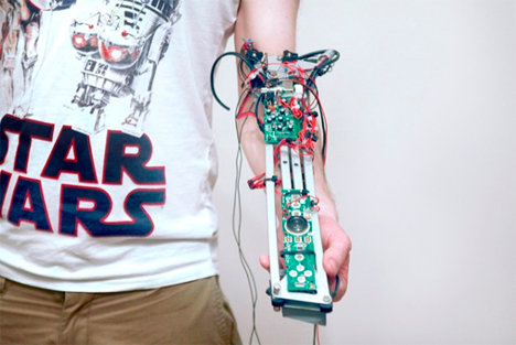 man and machine musical instrument