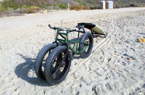 sand and snow trike
