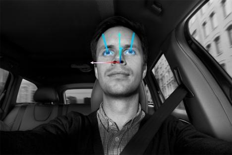 volvo distracted driver sensors