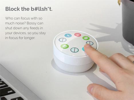 bossy desktop organization tool