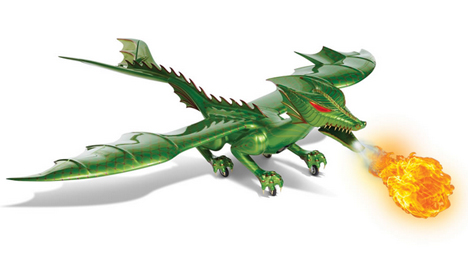 fire breathing remote control dragon