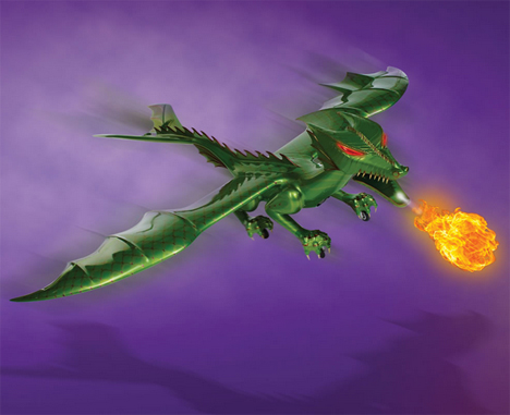 flying fire breathing dragon