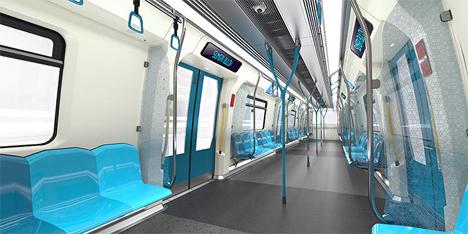 guiding light subway cars