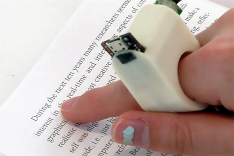mit media lab fingerreader