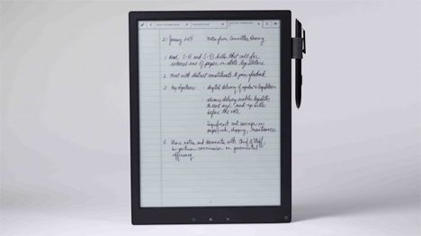 natural handwriting digital paper tablet