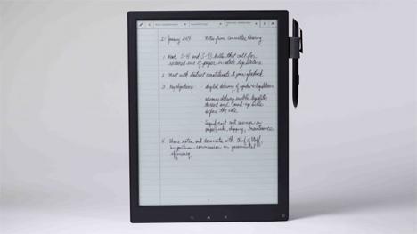 natural handwriting digital paper tablet