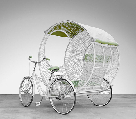 new urban rickshaw design