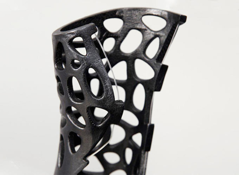 next generation 3d printed cast