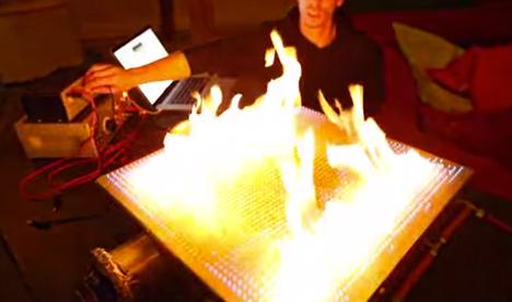 pyro board experiment