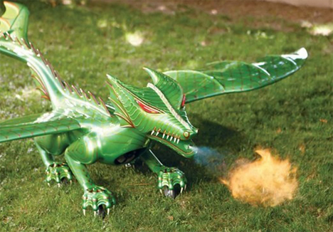 remote control flying dragon