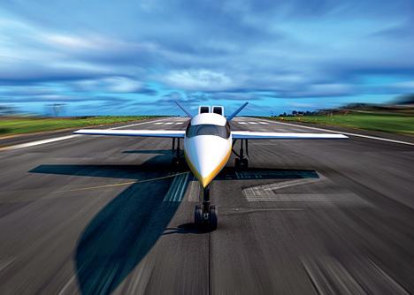 s-512 supersonic windowless jet