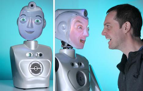 socibot mimicking facial expressions