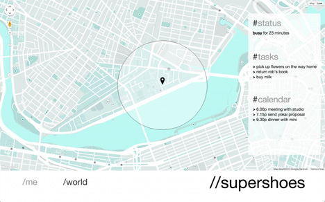 supershoes map