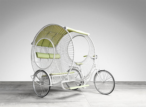 urban commuter rickshaw