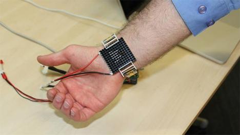 body temperature regulating bracelet