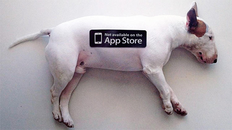 dog not available on app store