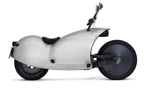 long range electric motorcycle