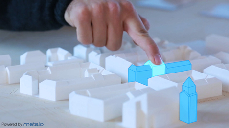 metaio thermal touch augmented reality technology