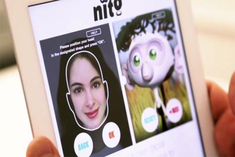 nito facial expressions app