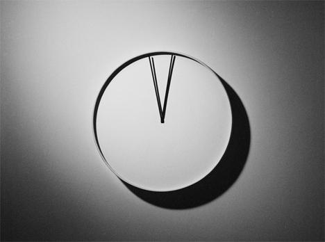 numberless heartbeat wall clock