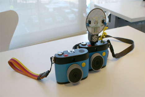 otto raspberry pi gif making camera