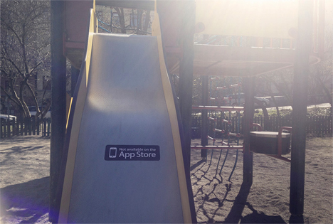 playground slide not available on app store