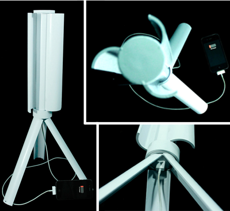 portable turbine wind charger