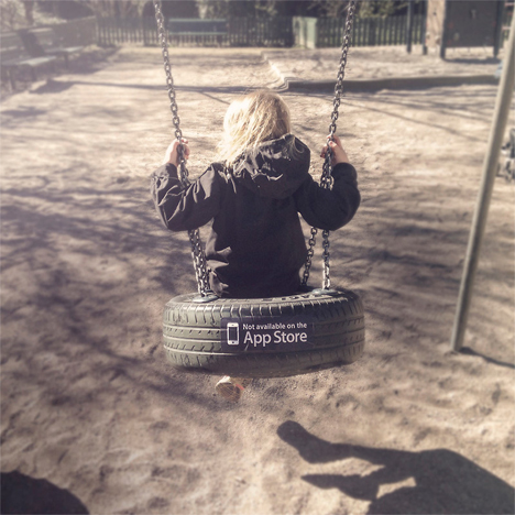 tire swing not available on app store