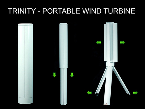 trinity turbine wind charger