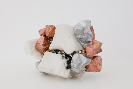 artificial ore made from recycled electronics