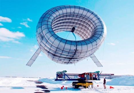 buoyant airborne turbine
