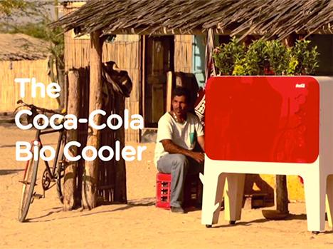 coca-cola bio-cooler