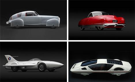 dream cars exhibit