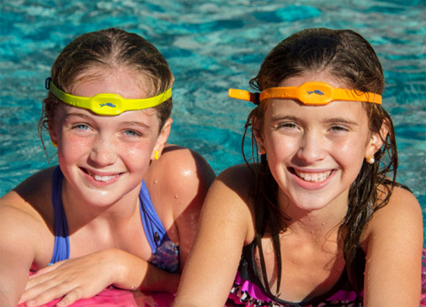 early drowning detection headband for kids