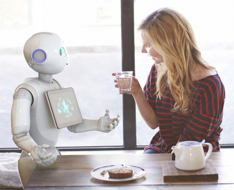 emotion sensing robot pepper