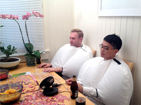 inflatable talking suits