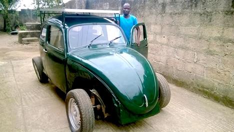 nigerian student solar car $6000