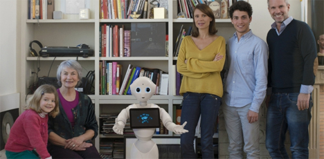 pepper emotional family robot