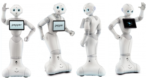 pepper humanoid emotion sensing robot