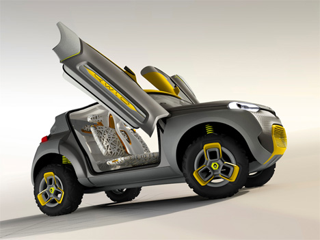 rugged kwid renault concept car